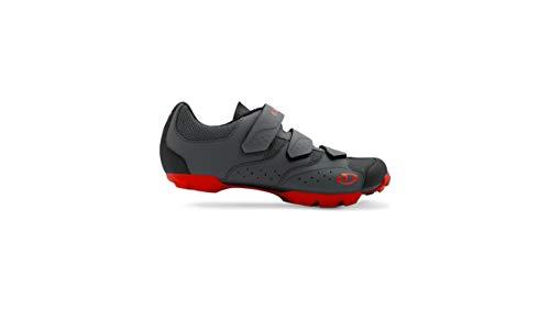 Giro Men's Carbide RII MTB Cycling Shoes - Black/Red (Black/Red - 47) (Best Mtb Shoes 2019)