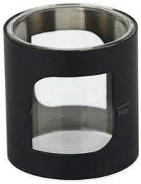 ASPIRE- Pack de 2 tubos de vidrio de reemplazo (Color: acero inoxidable negro) para claromizador PockeX AIO versión 2 ml (sin nicotina y sin tabaco)