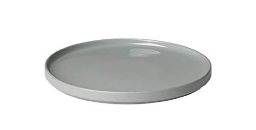 (blomus MIO Ceramic Dinner Plate 11 Inch Mirage Gray Set of 4)