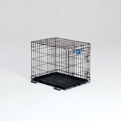 Cheap Midwest Life Stages Single-Door Folding Metal Dog Crate