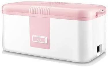学校の仕事のためのお弁当箱の食品の食事白磁電気スチームライナー1.2Lは3つのホット焼くホットボタンの機能