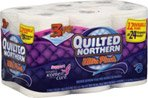 Quilted Northern Ultra Plush 3-Ply Bathroom Tissue Unscented