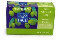 Kiss My Face Bar Soap, Pure Olive Oil, 8 OZ (6 pack) (Kiss My Face Soap)