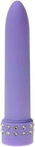 Seven Creations Diamond Silk Vibrator in lila 11cm