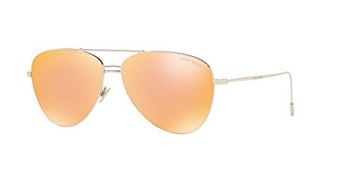 Giorgio Armani Sunglasses Gold/Gold Metal - Non-Polarized - 58mm Armani Gold Sunglasses