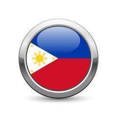 adrium Philippine Flag Icon Web Button (53951463), Póster, 40 x 40 ...