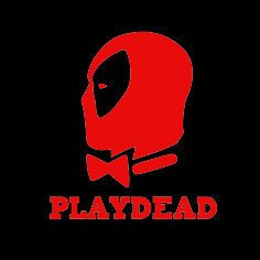 Costumes Marvel Itself Fear (Play Dead Deadpool Vinyl Decal Sticker | Cars Trucks Vans Walls Laptops Cups | RED | 5.5 inches |)