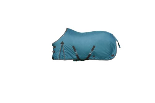 Kensington Platinum Collection 1680D Medium Weight Turnout Blanket, 75, Teal by kensington products
