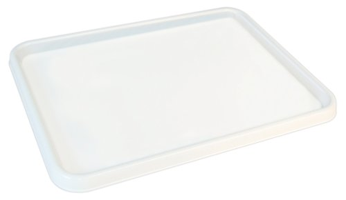 Sargent Art 22-9803 Large Flat Palette, White, 9-3/4-Inch by - Plates Sargent