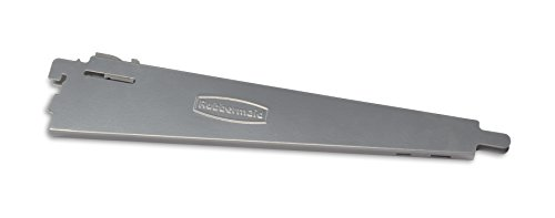 Rubbermaid Configurations 4-to-8-Foot Deluxe Custom Closet Organizer System Kit, Titanium (FG3H8900TITNM)