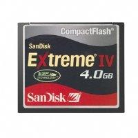 (SanDisk SDCFX4-4096 4GB Extreme IV CompactFlash)