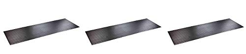 SuperMats High Density Commercial Grade Solid Equipment Mat 29GS Made in U.S.A. for Large Treadmills Ellipticals Rowers Water Rowing Machines Recumbent Bikes and Exercise Equipment (3) by SuperMats