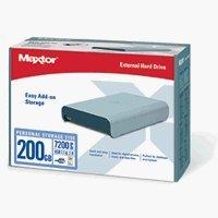 MAXTOR M01E200 Personal Storage 3100 External Hard Drive 200 GB