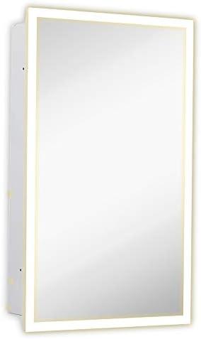 Medicine Cabinet with Lighting Backlit Medicine Cabinet 16 x 26