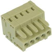 WAGO 734-105 TERMINAL BLOCK PLUGGABLE 5 pieces 28-14AWG 5POS