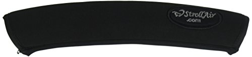 """strollair 12 inch long universal handle sleeve cover, black, 12"""""""