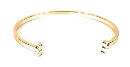 - Tory Burch Serif T Skinny Cuff Bracelet Gold-Tone