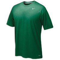 Nike Youth Legend Short Sleeve Tee Shirt (Youth Large, Dark Green)