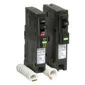 Square D 20A 1 Pole Circuit Breaker and Arc-fault Circuit Interrupter QO Model QO120AFIC 20 Amp