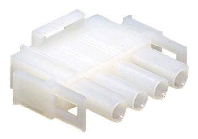 AMP - TE CONNECTIVITY - 640581-1 - Connector Housing, Plug, 6.35 mm Universal Mate-N-LOK Series 6 Positions-6pack