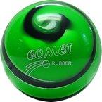 EPCO-Duckpin-Bowling-Ball-Comet-Pro-Rubber-Green-Black-White-Single-Ball