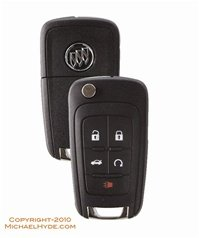 (OEM Keyless Entry Remote Fits Buick Regal LaCrosse Verano Allure With DIY Programming Instructions (Push Start Button Ignition Models Only))
