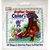 Mother Goose Color and Sing Favorites