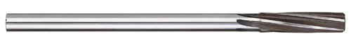 Titan TR96953 High Speed Steel Dowel Pin Reamer, Straight Shank, Right Hand Spiral Cut, 0.1870'', 1 - 1/8'' Cutting Length, 0.1805'' Shank Diameter, 4 - 1/2'' Overall Length