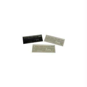 L-shape Enter Key Usb Cable - Keytronics Rohs Compliant, Large L Shape Enter Key, Usb Cable Keyboard In Beige - E06101U1