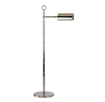 (Robert Abbey S647 Lamps with Metal Shades, Polished Nickel Finish)