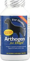 PetLabs360 Arthogen for Dogs Beef and Cheese Flavor — 250 Chewable Tablets, My Pet Supplies