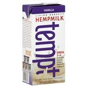 Living Harvest Tempt Hemp Milk, Unsweetened Vanilla, 32-Ounce Containers (Pack of 12) by Living Harvest (Image #1)