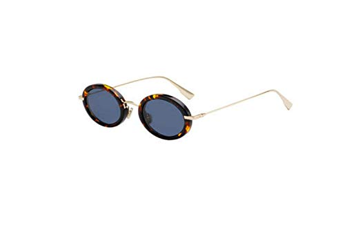 Authentic Christian Dior Hypnotic 2 02IK/A9 Havana Gold Sunglasses