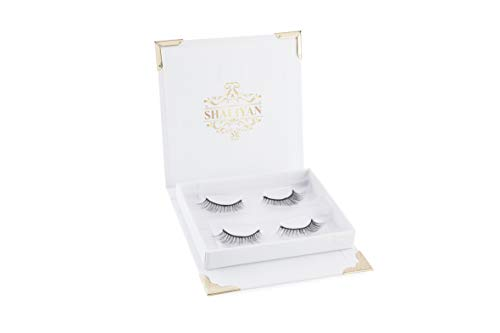 Magnetic Eyelashes /\\ 3 Magnet False Eyelashes For A Bold Full Eye & Natural Look /\\ Ultra Thin & Upgraded 3d Magnetic Eyelashes/No Glue/Reusable / Cruelty Free (Magnetic Eyelashes w/o Applicator)