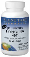Planetary Herbals Cordyceps 450 Full Spectrum, Chinese Tonic for - Tonic Chinese