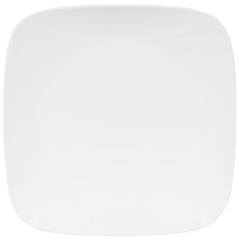 Corelle Square 10-1/4-Inch Dinner Plate, Pure White
