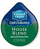 tassimo coffee disc maxwell house - MAXWELL HOUSE Decaf HOUSE BLEND Decaf COFFEE T-DISC 32 COUNT
