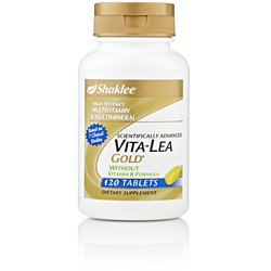 Shaklee Vita-Lea Gold without Vitamin K 120 ct. (Vita Lea Without Vitamin K)