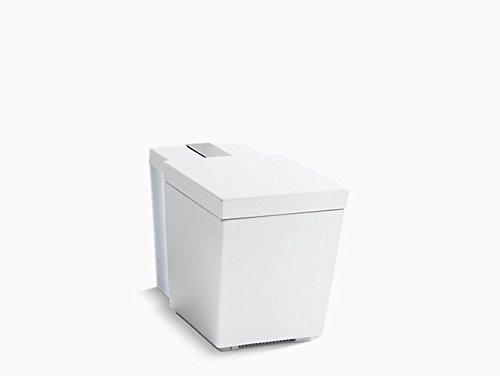 Kohler K-3901-Npr-0 Numi Comfort Height One-Piece Elongated 1.28 Gpf Toilet Seat Remote, 0, White -