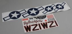 Top Flite Decals P-51 Mustang - Big Beautiful Doll Mustang P-51d