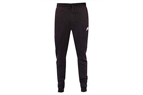 Nike Mens Sportswear Tech Fleece Jogger Sweatpants Burgundy Ash/White-White 805162-659 Small