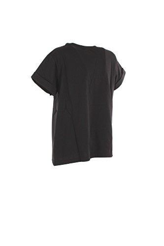 VICOLO T-Shirt Donna Tu Nero Vo0021 Primavera Estate 2017