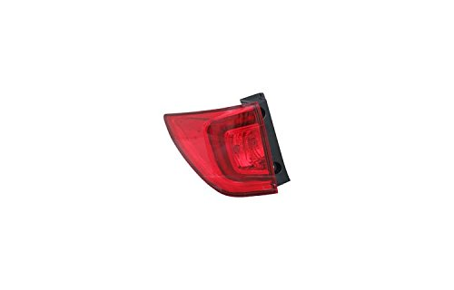 TYC 11-6830-00-1 Replacement Left Tail Lamp for Honda Pilot