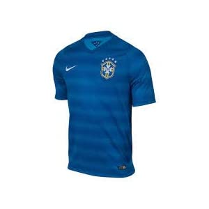 Brazil Away Authentic Jersey 2014 / 2015