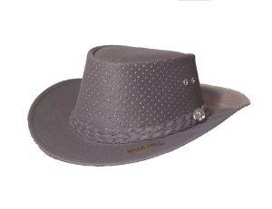 Aussie Chiller Outback Bushie Chiller Golf Hat - Grey - Large