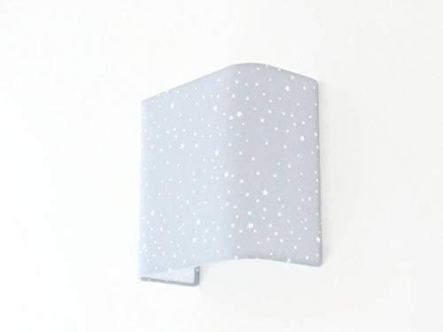 Applique murale carré gris étoiles blanches Luminaire ou demi ...