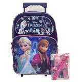 Disney Frozen Rolling Backpack Stationery