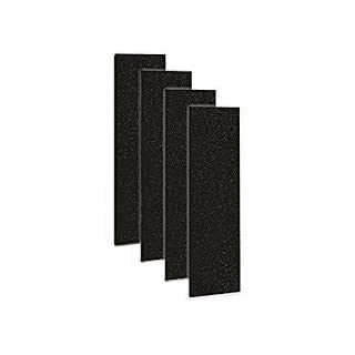 Carbon Activated Pre-Filter 4-pack for use with the Germ Guardian FLT4825 HEPA Filter, AC4800 Series, Filter B By Complete Filtration Services