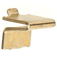 CRL Brass 3/4 Shelf Support for KV233 or KV255 Standards Pack of 20 by CR Laurence by CR Laurence