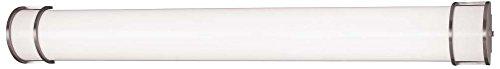 - Minka Lavery Minka 648-PL Traditional Two Light Bath Art Brushed Nickel Collection in Pwt, Nckl, B/S, Slvr.Finish Bar 49-1/8L, Upc-747396053684, 49-1/8